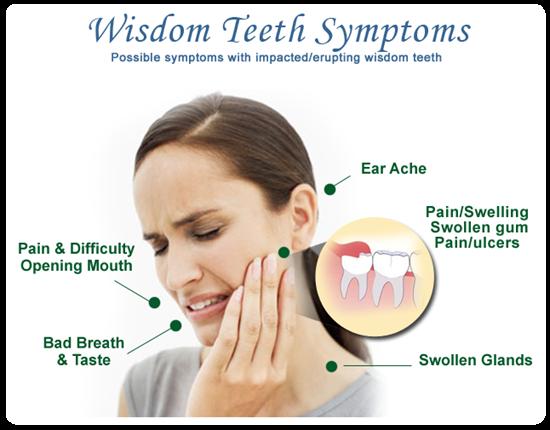 protiniu dantu rovimo simptomai